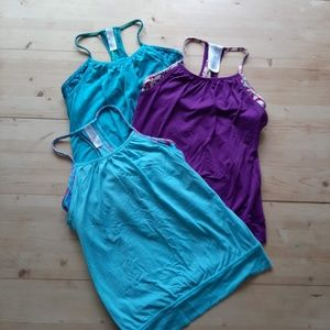 Ivivva Lot of Double Dutch Layered Tank Tops